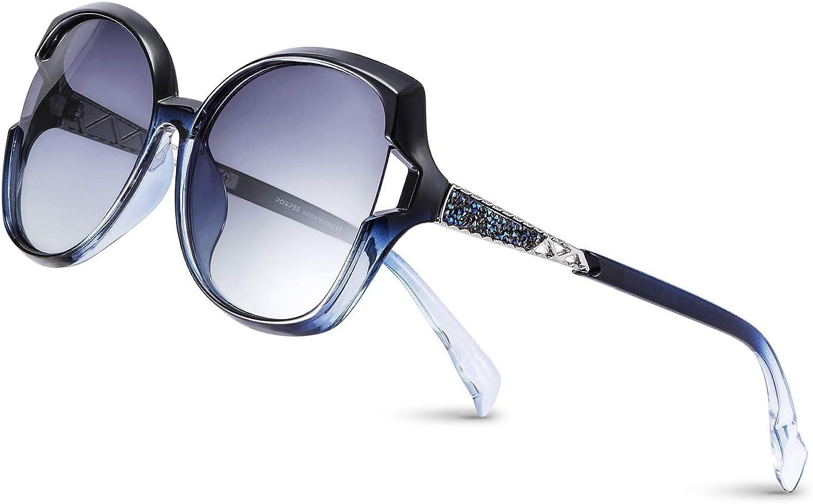PORPEE Gafas de Sol Mujer Polarizadas, 2020 Gafas de Sol Moda con ...