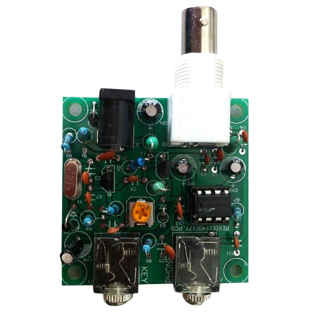 MagiDeal 40M CW RADIO Shortwave Transmitter QRP Pixie Kit Receiver 7.023-7.026MHz