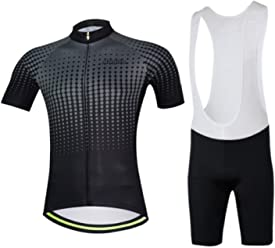 1923507c505 Aogda Mens Cycling Jersey Silicon 3d Padded Short Sleeve Shirt Bicycle Cycle  Racing Clothing D011