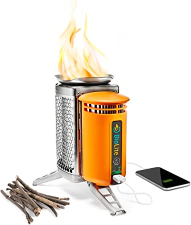 BioLite CampStove 1 Wood Burning and USB Charging