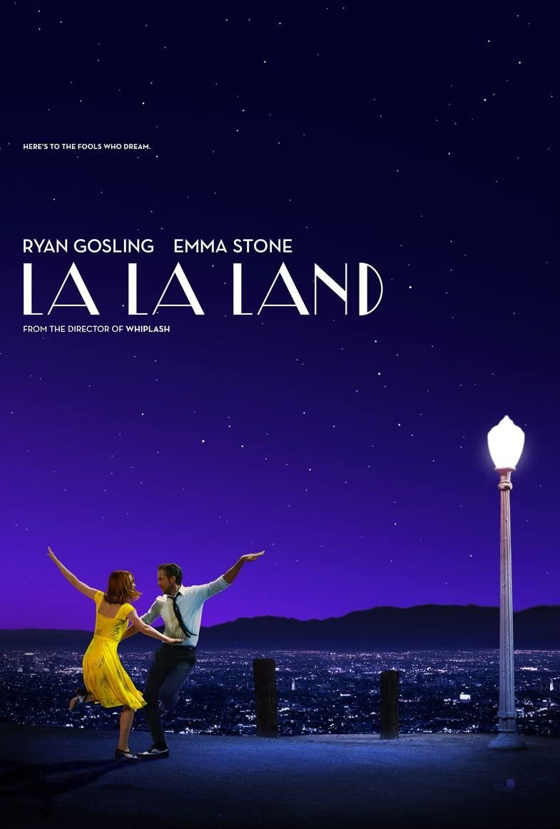 Image result for la la land movie poster""