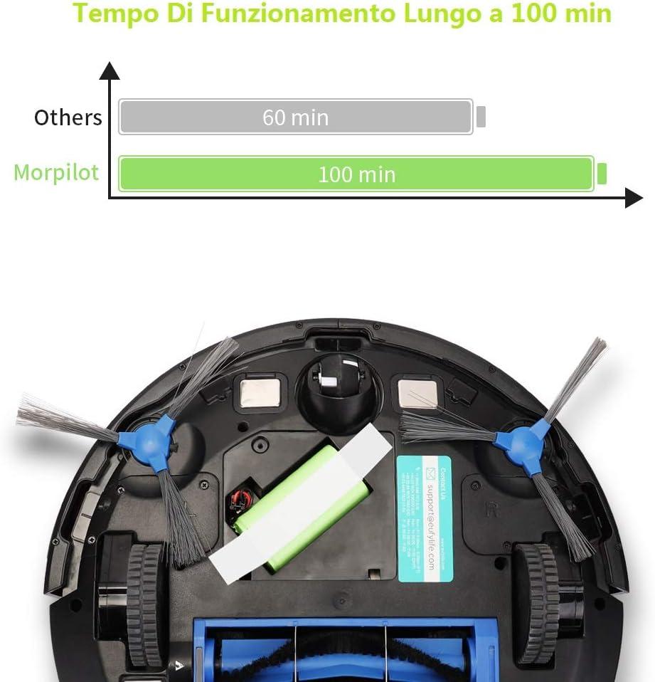 Deebot N79S// N79 Tesvor X50 Morpilot Batteria Ricambio Robot 14.4V 2600mAh Ricaricabile Agli Loni di Litio Compatibile con Eufy RoboVac 11// 11S// 30//12// 35C Conga 1090 Conga Excellence 990