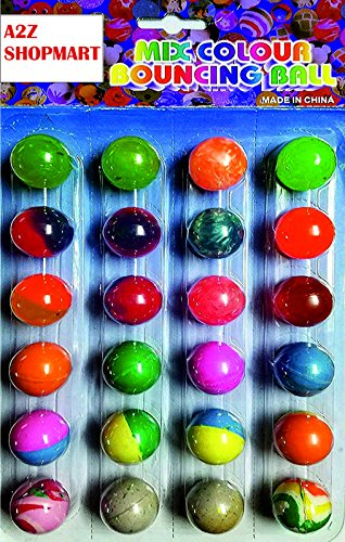 Buy A2Z SHOPMART Colorful Bouncing Balls Stress Reliever