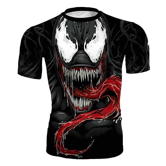 JXKEF Impresora De Camisetas 3D Anime Movie Venom Hombre De ...