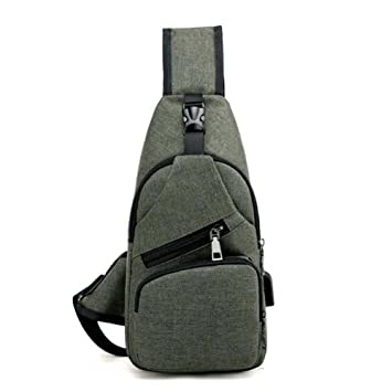 Chest Men s Sports Casual Backpack Pocket Boy Shoulder Bag Messenger Bag  Men s Bag (Color   d809809c49e5b
