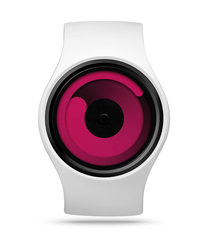 Ziiiro Gravity Snow Magenta Unisex Silikon - Edelstahl Watch wechselbare Uhr