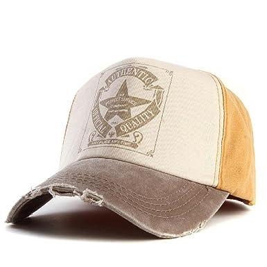 95f0b80371c53 Amazon.com  Xthree retro baseball cap women fitted cap snapback hats for  men hip hop casual cap cheap hats casquette gorras bone  Clothing