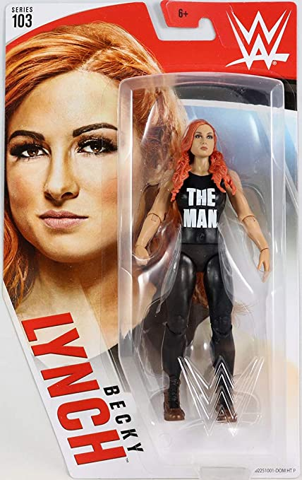 WWE Elite Series 72 Becky Lynch Collectible Action Figure /& Accessories