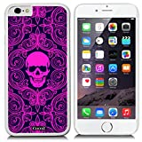 ninja turtle barbie - New Apple iPhone 6 s 4.7-inch CocoZ® Case Fashion personality skeleton skull PC Material Case (White PC & Fashion skull 25)