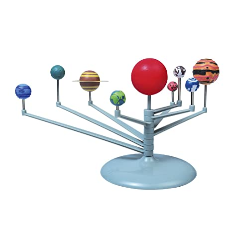 Amazon.com: Fityle Solar System Model & Sun Earth Moon ...