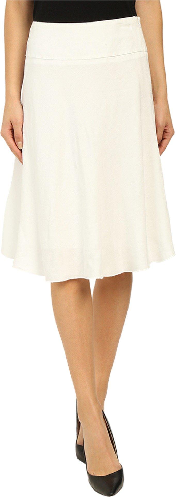 NIC+ZOE Women's Summer Fling Skirt Paper White Skirt 6