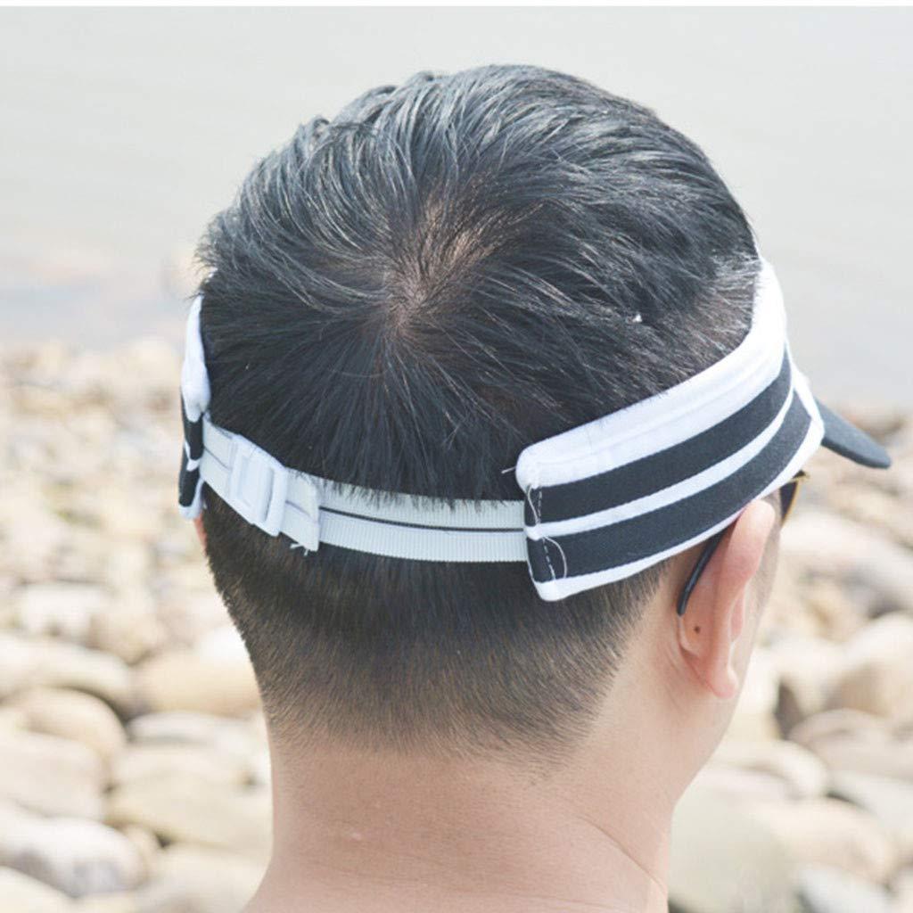 Meidexian888 USB Charging Fan Cap,Summer Unisex Cooling Sunscreen Camping Hiking Peaked Cap Fan Empty Top Hat (Black) by Meidexian888 Sun Hat (Image #4)