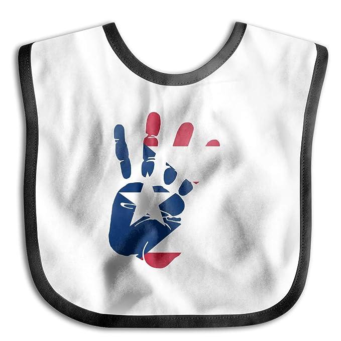 Amazon Com Handprint Flag Of Puerto Rico Funny Baby Infant