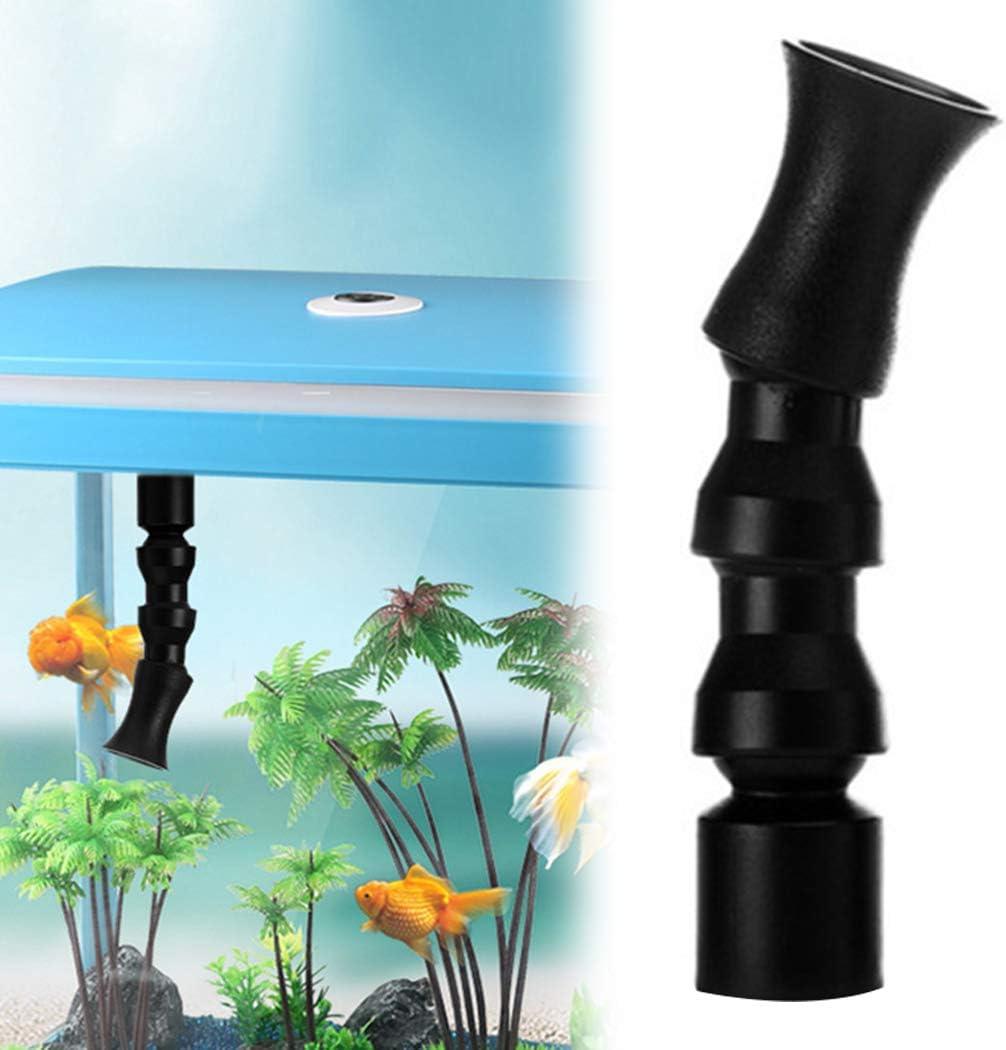 Legendog Fish Tank Duckbill,Aquarium Water Outlet Nozzle Plastic Return Pipe End Nozzle for Fish Tank