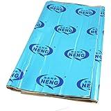 "Coche Azul Estera Laminada de Aluminio Intensivo Autoadhesiva Caucho Butílico Espuma 2mm de Espesor Aislante de Calor para Aislamiento Térmico y Acústico Colchoneta a Prueba de Sonido 32"" x 18"""