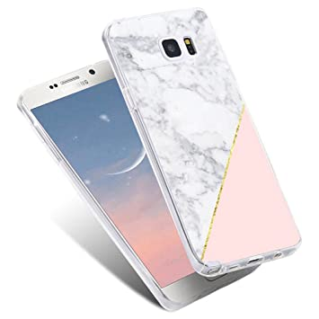 new arrival 2e279 7102b For Samsung Galaxy J5 2016 Case,LLZ.COQUE Bling Shiny Rose Gold Stone  Marble Print Case,Glitter Ultra Thin 2in1 Protective Soft TPU Bumper  Shockproof ...