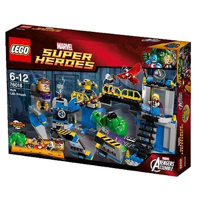LEGO Super Heroes 76018: Hulk Lab Smash: Toys & Games