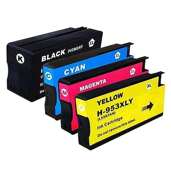 Wolfgray HP953XL HP 953XL 953 XL Cartuchos de impresora Compatible ...