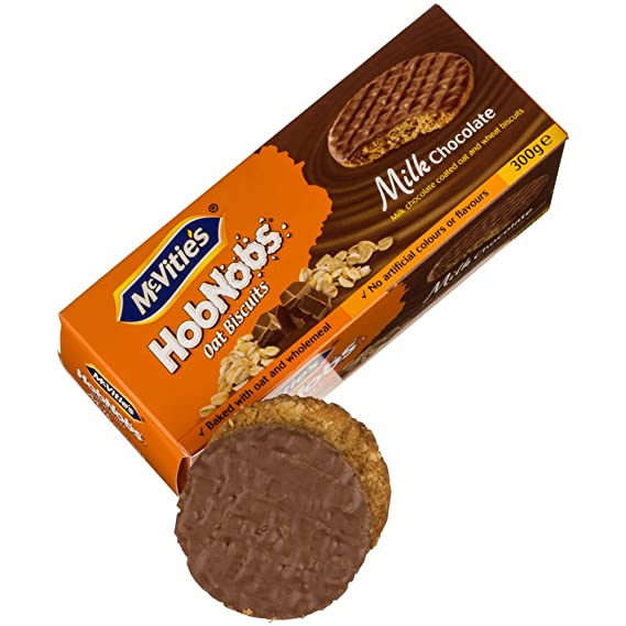 McVities HobNobs Oat Biscuits Chocolate con leche 300 g