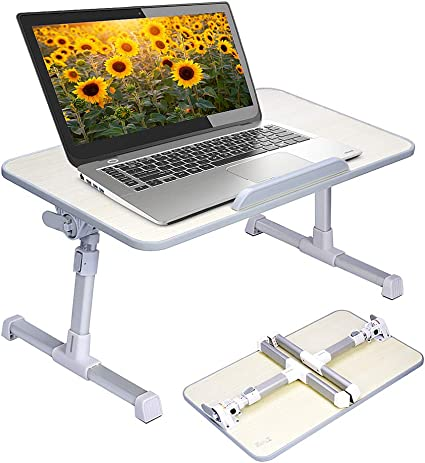 Removable Adjust Laptop Desk Stand Portable Lap Sofa Bed Tray Notebook Table UK
