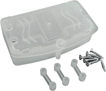 Caja de conexiones eléctrica, apto para regleta de clavijas de 5 A, 15 A y 30 A (paquete de 5): Amazon.es: Iluminación