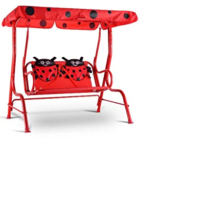 Pleasing Amazon Com Kids Patio Swing Chair Children Porch Bench Pdpeps Interior Chair Design Pdpepsorg