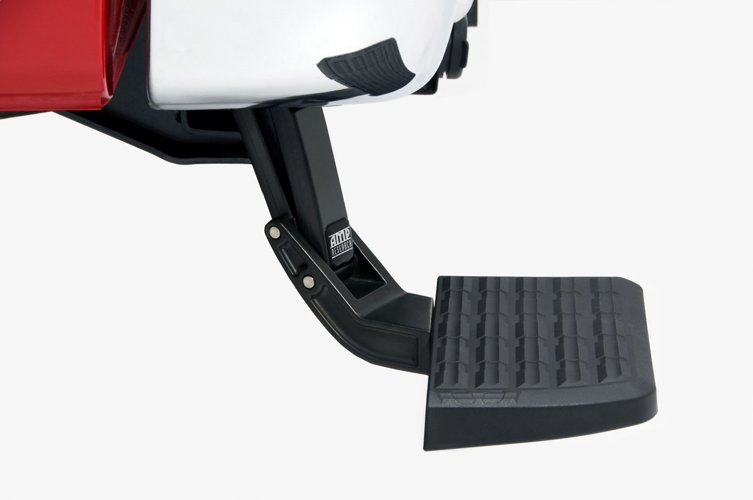 AMP Research 75313-01A Black Bumper Step (BedStep Flip Down)