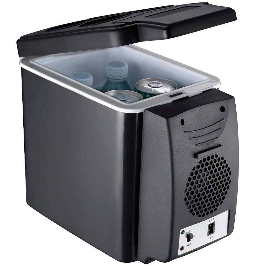 Hongyan Mini Fridges Car Refrigerator Car Dual-use Mini Refrigerator 24V Truck Dedicated 6 Liter 12V Large Capacity Refrigeration Refrigeration A+ (Color : White, Size : 24V)