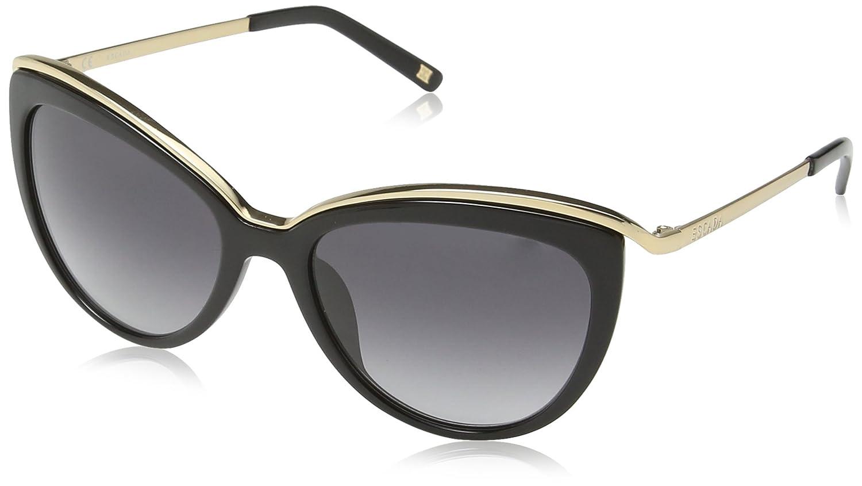 Escada - Gafas de sol Ojos de gato SES346 para mujer: Amazon ...