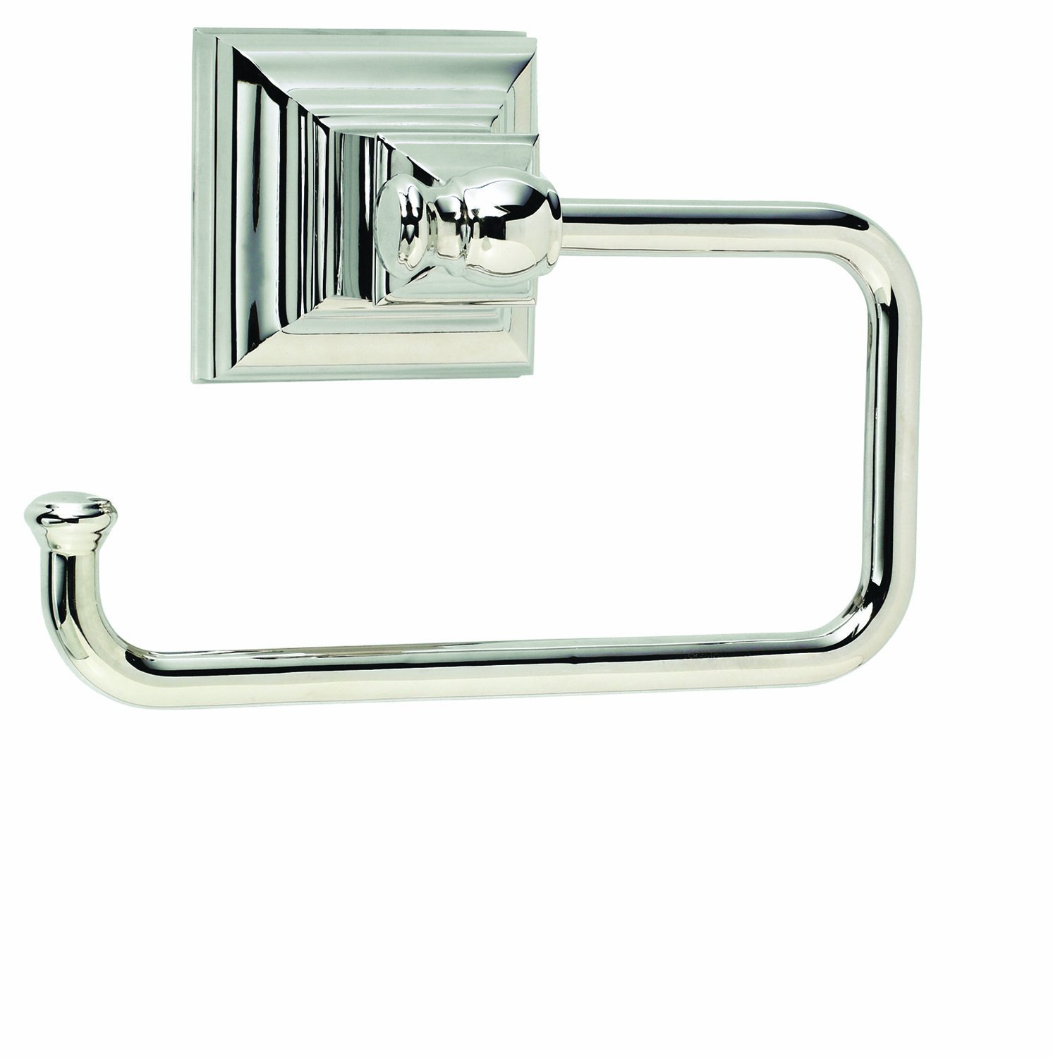 Amerock BH26510PN Markham Single Post Tissue Roll Holder - Polished Nickel lovely
