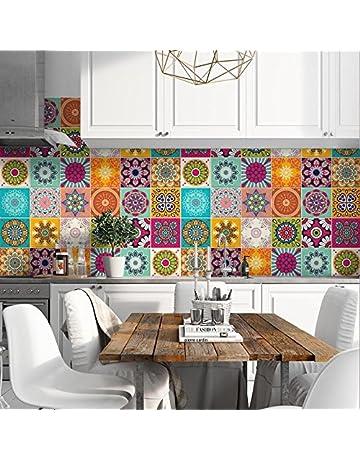 Amazon.it: Adesivi per piastrelle: Casa e cucina