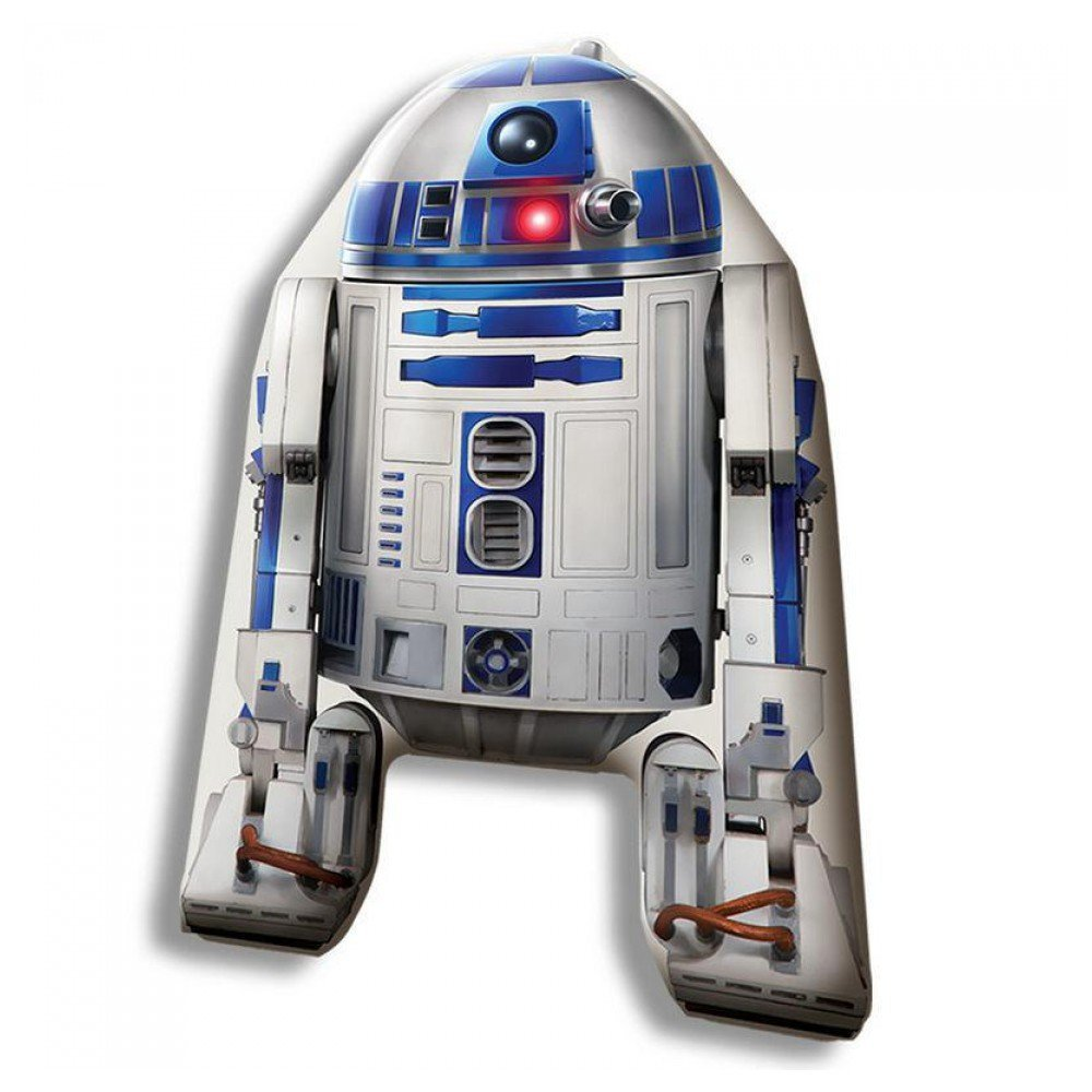 Amazon.com : Cojin Star Wars Forma R2D2 40cm Velour : Office ...