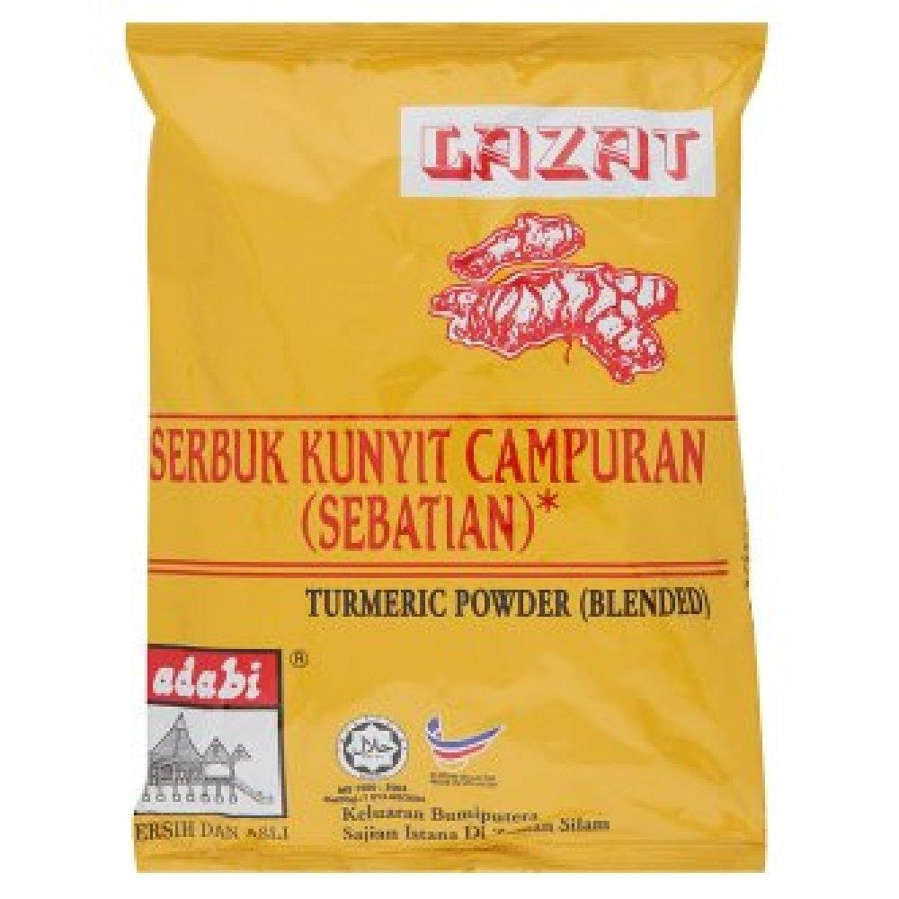 Adabi Turmeric Powder Blended 250g (628MART) (1 Pack)