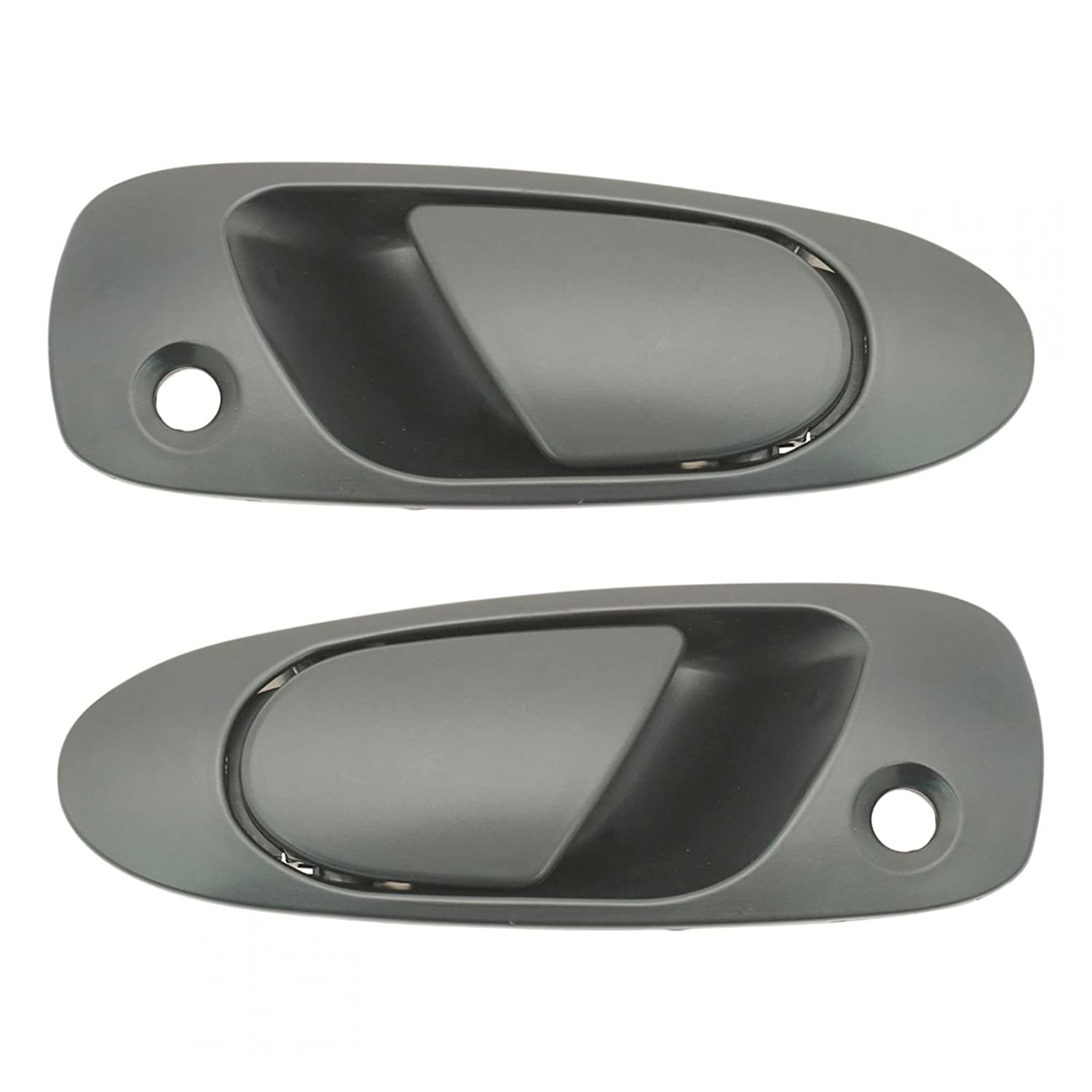 b1ff5c474b4db Door Handles Outside Exterior Left & Right Pair Set for Honda Civic Del Sol