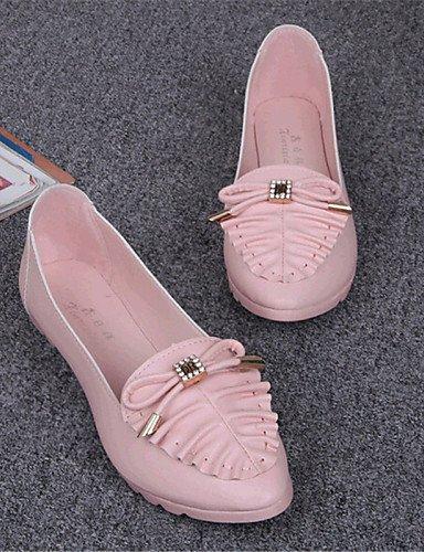 PDX/ Damenschuhe-Ballerinas-Outddor / Lässig-Kunstleder-Flacher Absatz-Komfort-Blau / Rosa / Weiß , pink-us5.5 / eu36 / uk3.5 / cn35 , pink-us5.5 / eu36 / uk3.5 / cn35