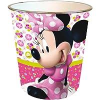 Minnie Mouse BASURA DE PAPEL DE ROSA