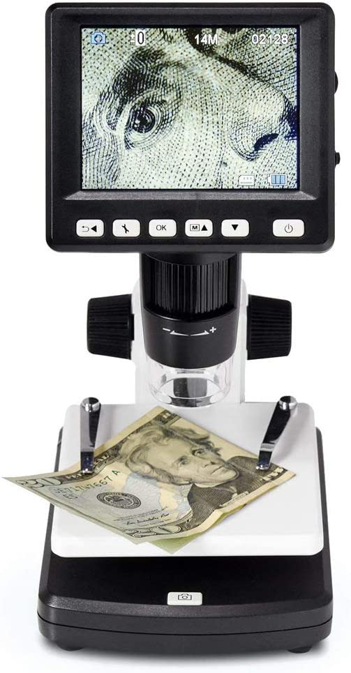 Industrial 1200x Ordes Stand-Alone LCD Digital Microscope high-Definition Electronic Digital Microscope