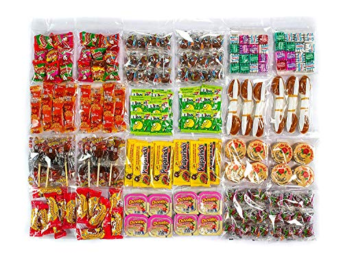 Mexican Candy Variety Pack (Over 200 pieces) (Mexican Variety Candy)