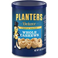 Planters Deluxe 18.25 oz Lightly Salted Whole Cashews