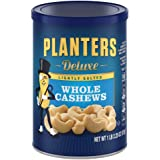 Planters Deluxe Whole Cashews, Lightly Salted, 1 lb 2.25 Ounce Canister