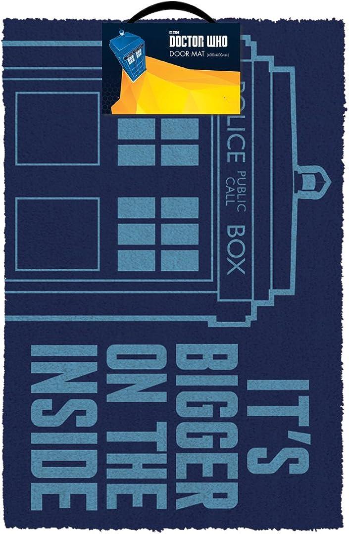 Doctor Who Tardis Doormat, Multi-colour, 40 x 60cm