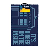 IMPACT Doctor Who - Tardi Outdoor Doormat, 1 kg