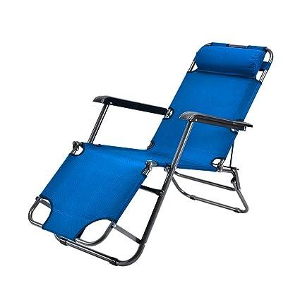 Amazon.com: ZXL Silla reclinable plegable para el hogar ...