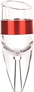 Wine Aerator Pourer Quick Food grade silicon Aerating Stylish Stainless steel Red Wine Decanter Aerator with Stand