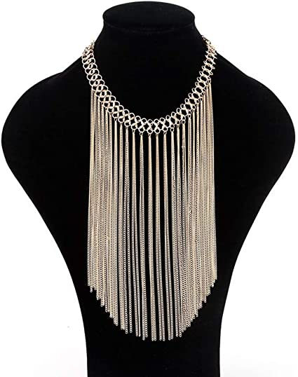 Boho Tassel Waist Chain Multilayer Sequins Hollow Carved Engrave Body Jewelry