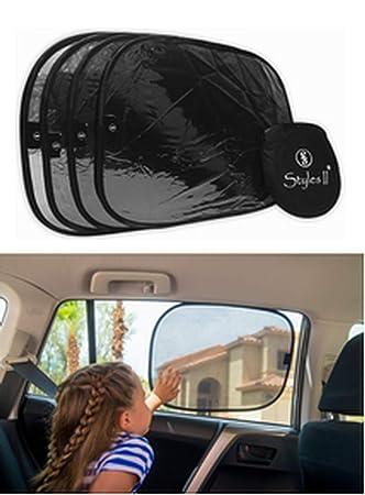 Styles II Car Window Sun Shade (4 Pack) 19 quot x14 quot  Cling Sunshade da80d8fbb5b