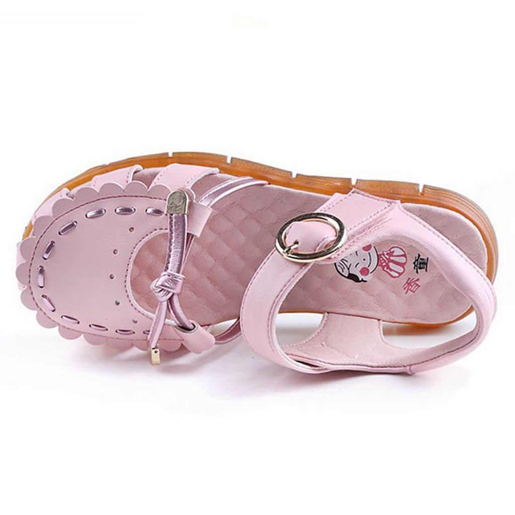 Men/Women Girls Sandals Summer Hot Water Closed-Toe Sandal Anti-Slip Flat Casual Princess Walke Flat Anti-Slip Shoes the most convenient Bright colors Suitable for color HH23811 e807f1