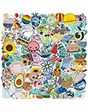 103Pcs Stickers - Funny Cute Waterproof Trendy Stickers for Teens, Girls, Adults - Perfect for Waterbottle Laptop Phone Hydro Flask Skateboard