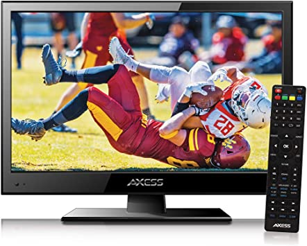 Monitor de TV digital LED HD de 15,4 pulgadas con pantalla LCD ATSC NTSC. Monitor