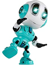 Fun Gifts for 3-8 Year Old Girls, Talking Robot for Kids Repeats What You Say Talking Toys for 3-8 Year Old Boys Cool Toys for 3-8 Year Old Boys Girls Cool Gifts for Boys Age 3-8 Blue SKUKRB002